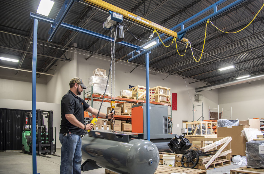 The uses for a GS Series Electric Chain Hoist