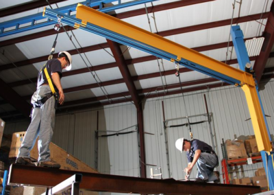 Gorbel Tether Track Fall Protection Systems