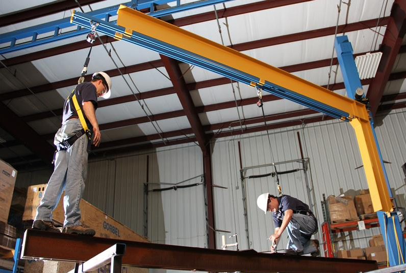 Using the Gorbel Tether Track Fall Protection System to Improve Safety and Efficiency