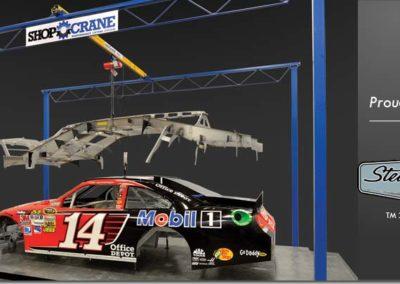 Gorbel Shop Crane 1/2 Ton
