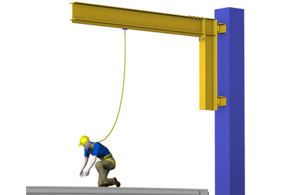 Tether Track™ Swing Arm Fall Arrest System