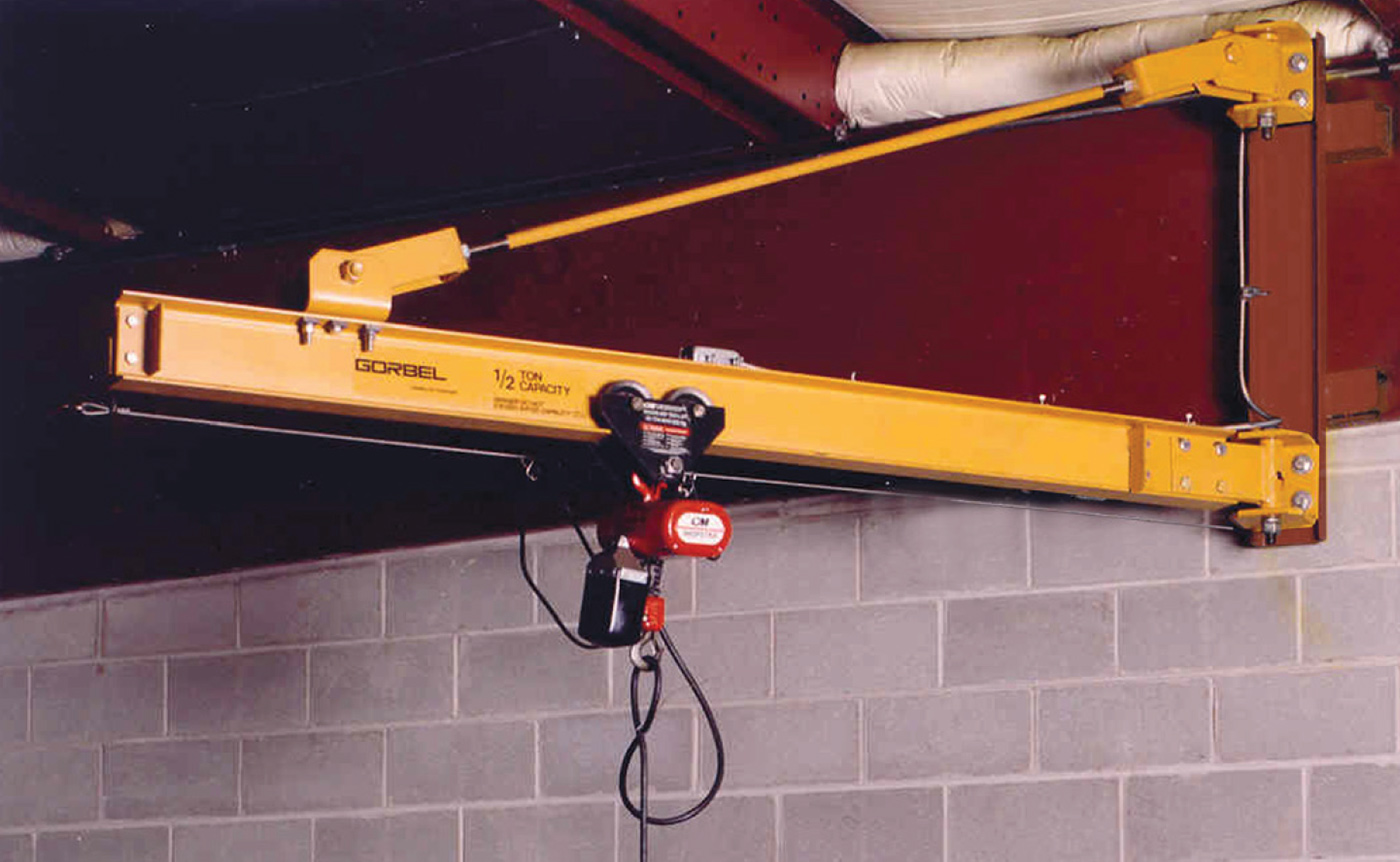 Gorbel Wall Bracket Jib Cranes: An Economical Heavy Duty Solution