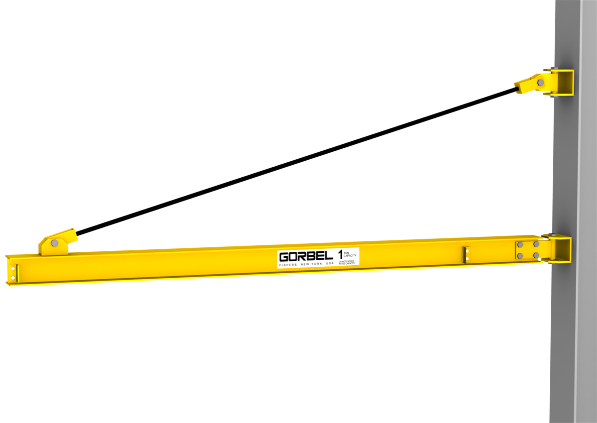 GORBEL WALL MOUNTED JIB CRANES